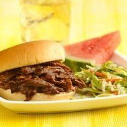 Root Beer Barbecue Beef Sandwiches — Punchfork