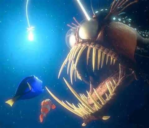 Angler Fish - Finding Nemo - - Yahoo Image Search Results