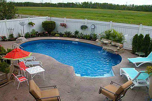 Small Kidney Pool Backyard Pool Designs Pool Patio Designs Small Pool Design