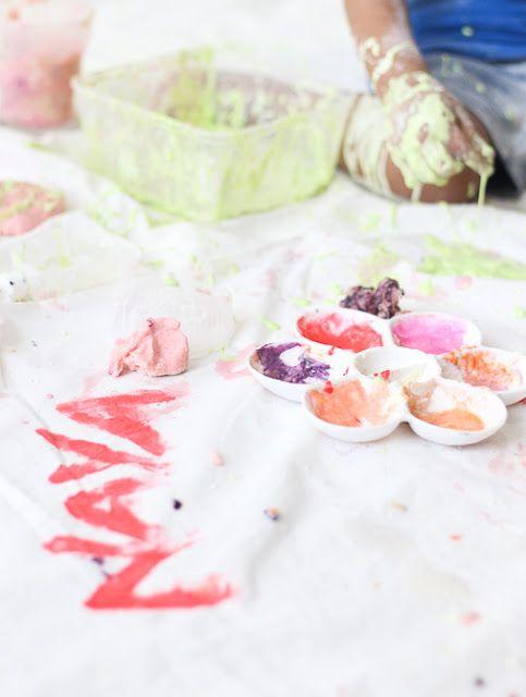 Homemade Finger Paint for Kids - www.lifeatarcilland.com