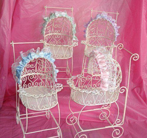 Baby Shower Centerpieces For Tables | Baby Buggy Table Center Piece  Decoration   Baby Shower Decorations