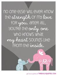 Elephant Quote Poster for Babys Nursery 11 x 14 by silentlyscreaming