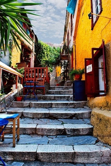 ...stairs, Athens / by tsigasp, via Flickr