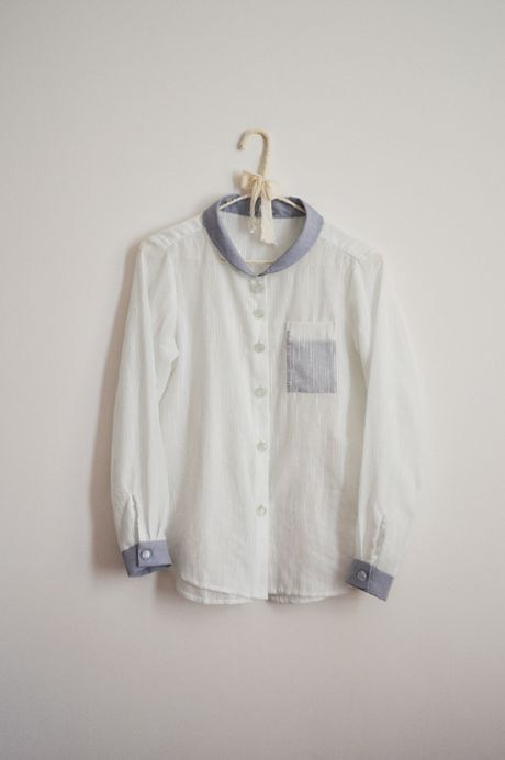 semi-transparent shirt by Minus Sun