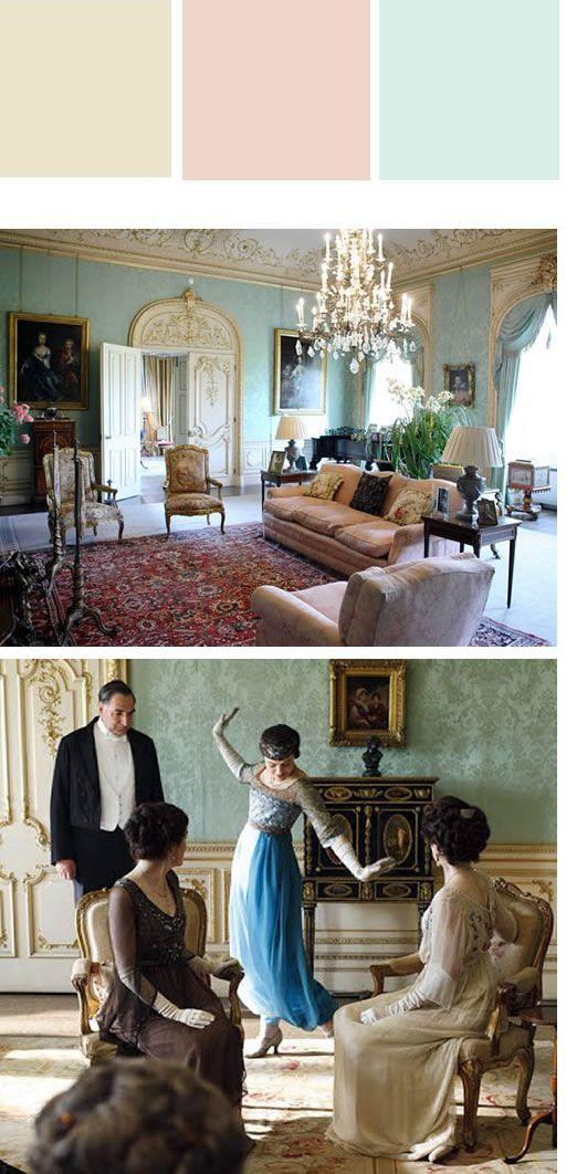 CARTELA DE CORES : Como escolher de um jeito fácil e criativo ;) Você sofre pra decidir entre tantas cores incríveis que vê pelo Pinterest? Então, corre aqui no blog que vou te mostrar um jeito fácil e criativo de fazer isto. Que tal essa inspiração Downton Abbey?