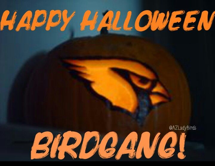 Arizona Cardinals Halloween 2015 Have fun, be safe! #BirdGang #AZLadyBirds @azcardinals