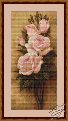 Roses - Cross Stitch Kits by Luca-S - B453