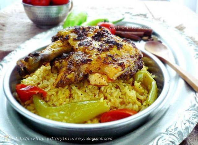Citra's Home Diary: Yemeni Chicken Mandi recipe
