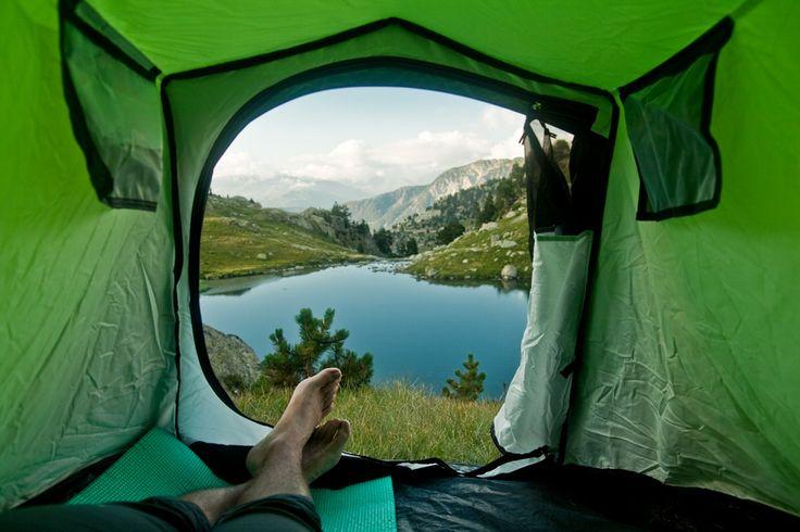 View from tent, Artur Debat Mollevi