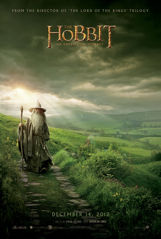 The Hobbit - An Unexpected Jouney: The Lord, Unexpected Journey, Movie Posters, San Diego, Peter Jackson, Cant Wait, Picture-Black Posters, The Hobbit, Thehobbit