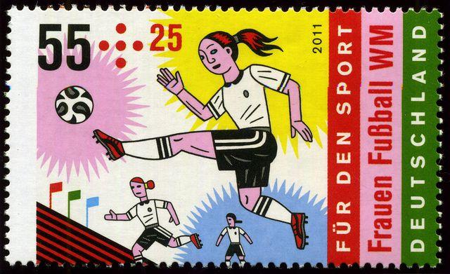 Deutschland 2011 - Frauen Fussball WM by Alfredo Liverani | OldBrochures.com