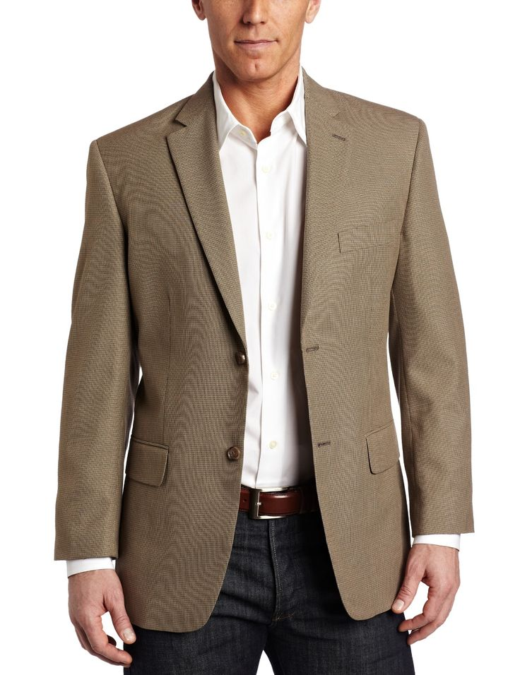 Men's Sports Jacket with Jeans Wearing Sport Coats with