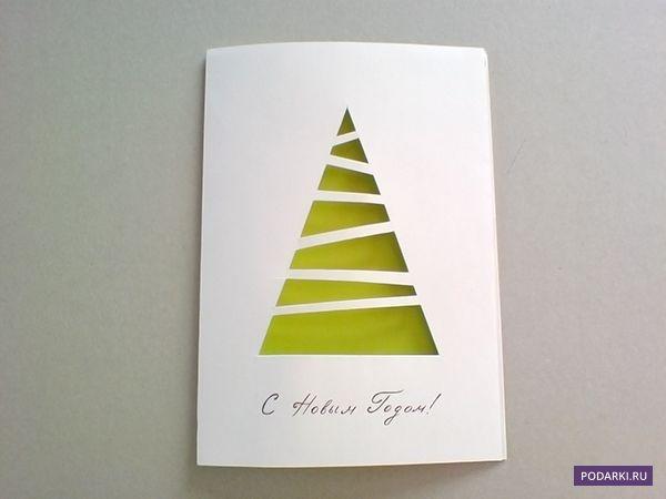 """Existuje množství vánočních přání: bohatě ozdobené, """"svíticí"""" všemi barvami duhy, nebo úplně jednoduchými, ale o nic méně originálními. Takové minimalistické přáníčko vytvoříte během 10 minut, ale radost tím uděláte nesrovnatelně větší. Budete potřebovat: – Papír na osnovu – Zelený (může být i jinak barevný) papír, nejlépe oboustranný – Lepidlo v tužce nebo oboustrannou lepicí pásku – […]"""