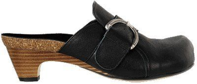 Papillio Ikaria Womens Clogs Leather, Black With A Regular Insole Papillio. $134.94. leather