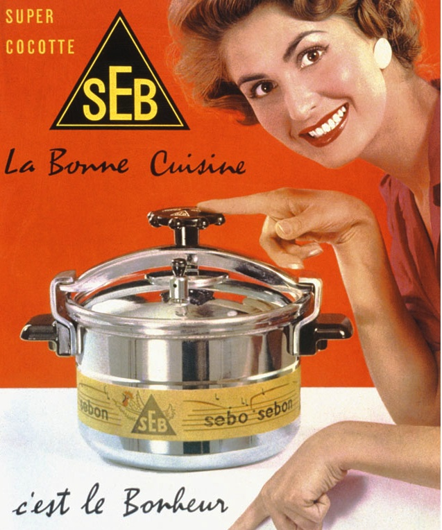 8 best super cocotte images on pinterest dutch ovens kitchens and vintage ads. Black Bedroom Furniture Sets. Home Design Ideas