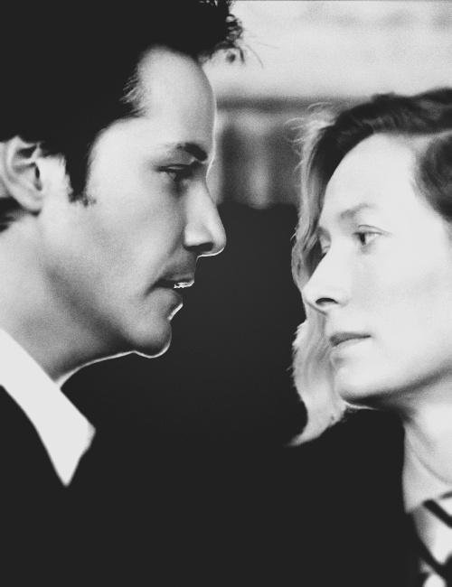 Tilda & Keanu in Constantine