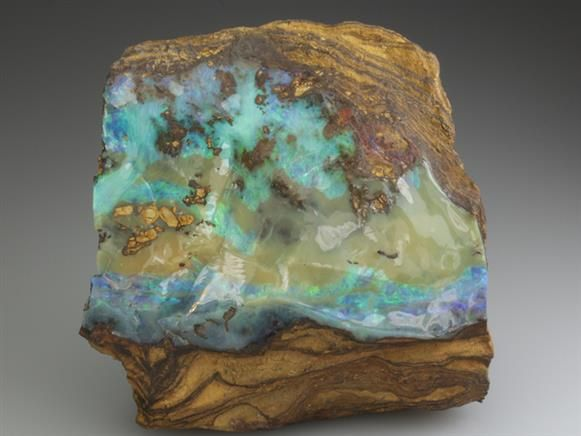 Opal from Australia. Crystal Classics Minerals                                                                                                                                                                                 More