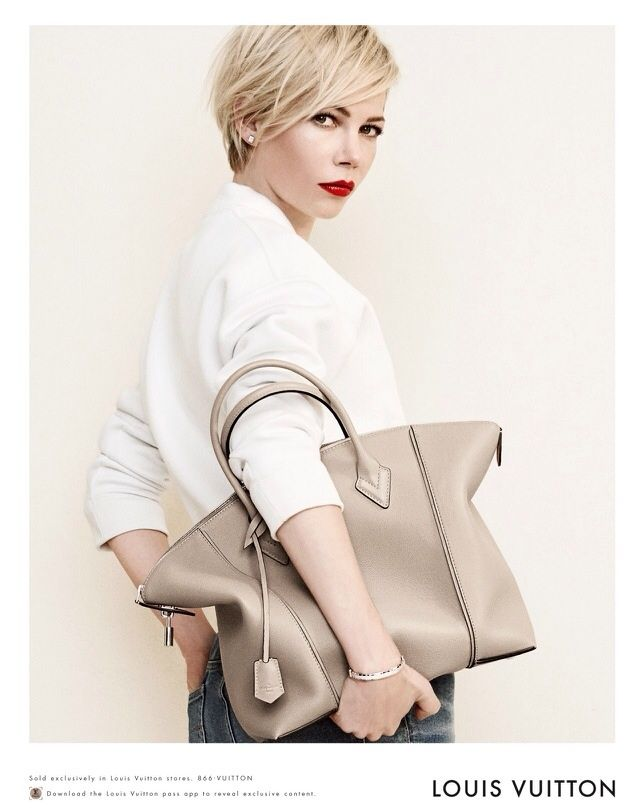 Fitted For Fashion; Michelle Williams Louis Vuitton