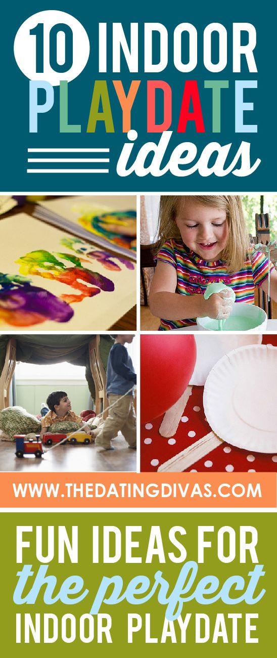 FUN indoor play date ideas