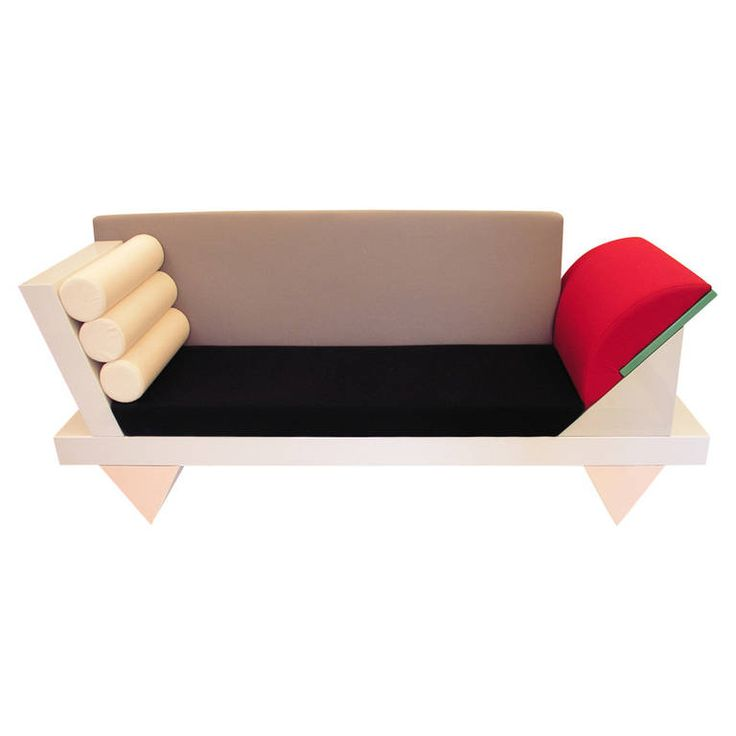 Big Sur Sofa by Peter Shire for Memphis Group, 1986 | From a unique collection of antique and modern sofas at https://www.1stdibs.com/furniture/seating/sofas/