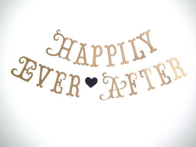 Hily Ever After Banner Ships Priority Bridal Shower Wedding Decorations Photo Prop Princess Party Tea 5280 Bliss