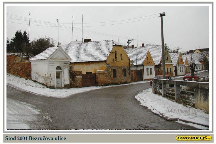 2001 Stod, Bezručova ulice, Foto Pavel Dolejš.