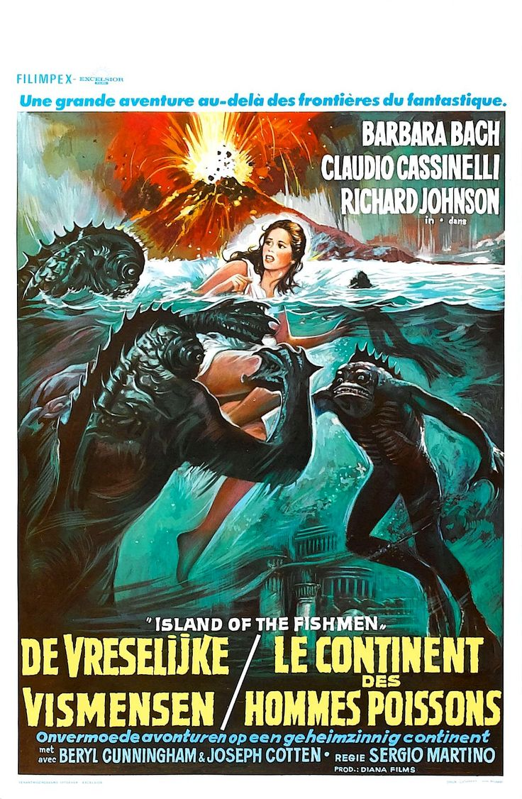 Island of Fishmen (L'isola degli uomini pesce, aka Screamers, aka Something Waits in the Dark) (1979, Italy)