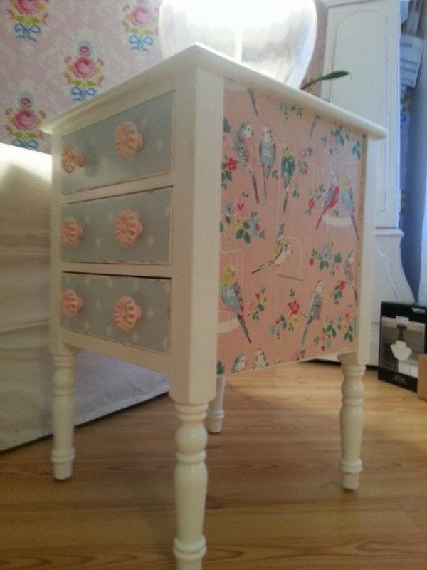 Cath Kidston table makeover