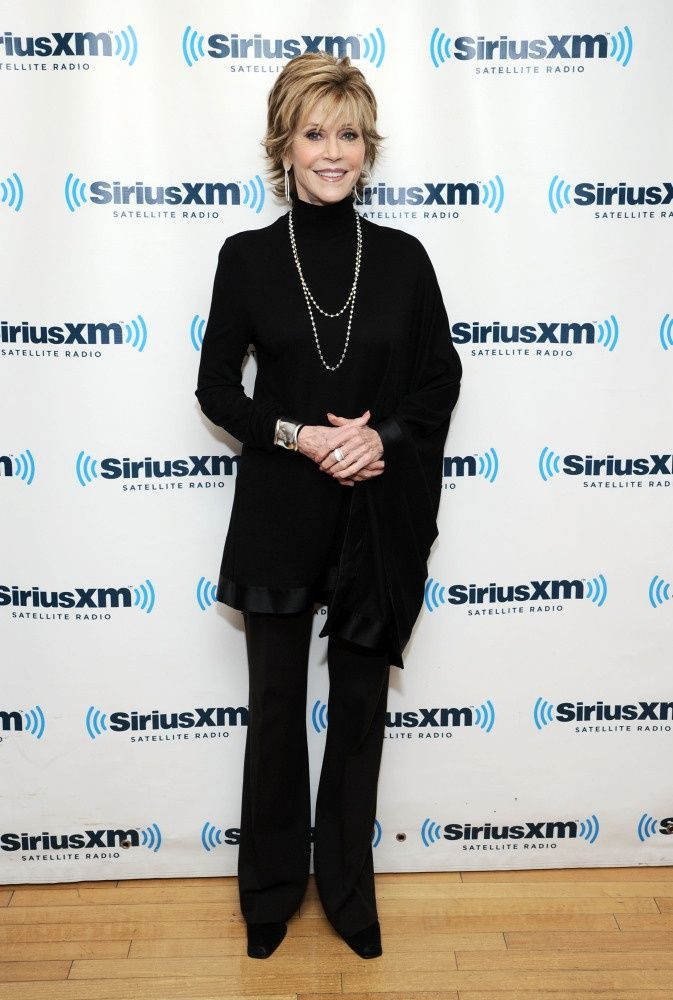 Over 50 Clothing Styles | Dec. 2012 Jane Fonda (75) Style Evolution ... | Fashion Over 50