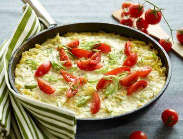 Æggekage med savojkål, porre og kartofler Et lækkert bud på en æggekage fra Familie Journals Slankeklub