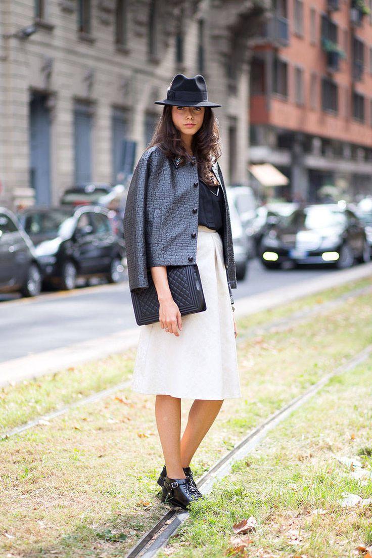 Ciao Bellas! Milan Street Style  - HarpersBAZAAR.com. #21 Step Style Course