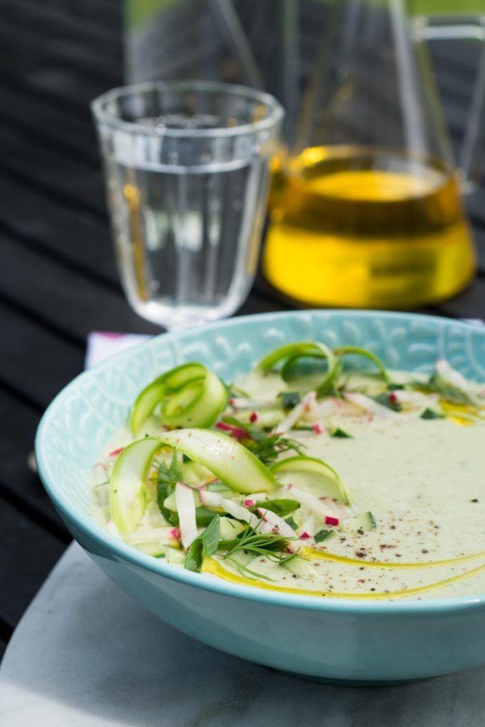 Zielony chłodnik z awokado - Kuchnia Agaty - najsmaczniejszy blog kulinarny!