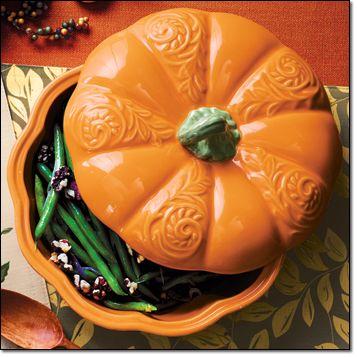 Figural Pumpkin Casserole
