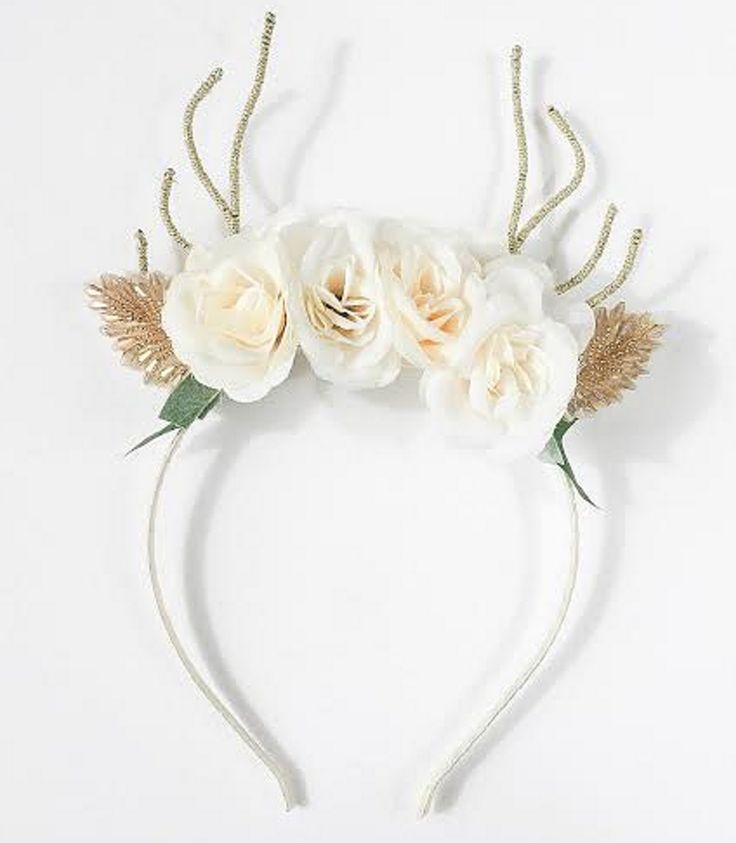 Arch N Ollie - Reindeer Blossom Mellow Headband