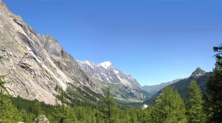 2012, agosto. Monte Bianco 1.