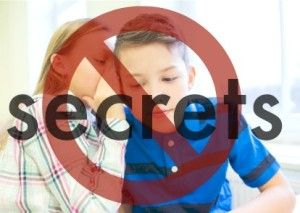 Why We Don't Keep Secrets In Our House {Child Abuse Prevention}