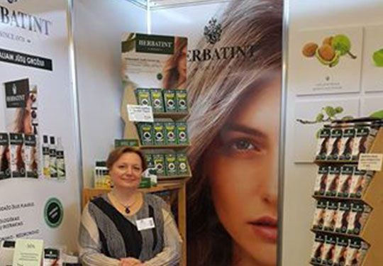#Herbatint at Cinderella Fair trade show in #Lithuania