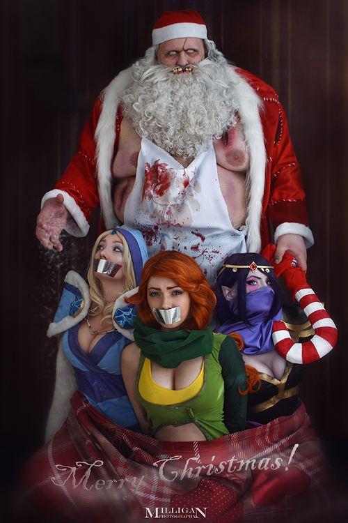 DotA 2 - Christmas - I brought the presents by MilliganVick.deviantart.com on @deviantART