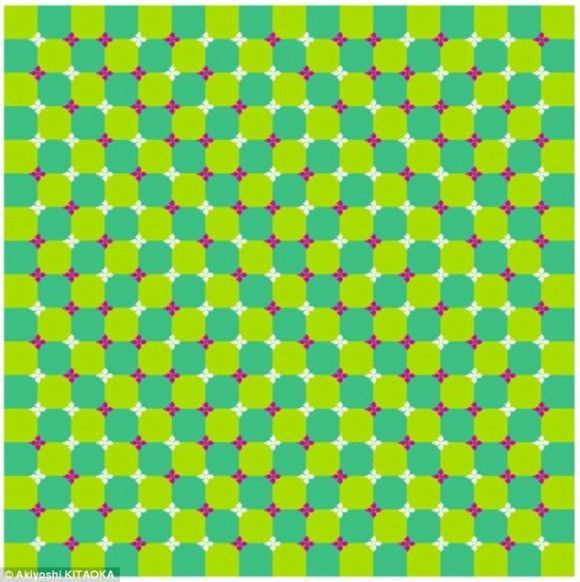 Blue and Green Trippy Moving Optical Illusion - http://www.moillusions.com/blue-and-green-trippy-moving-optical-illusion/?utm_source=Pinterest&utm_medium=Social