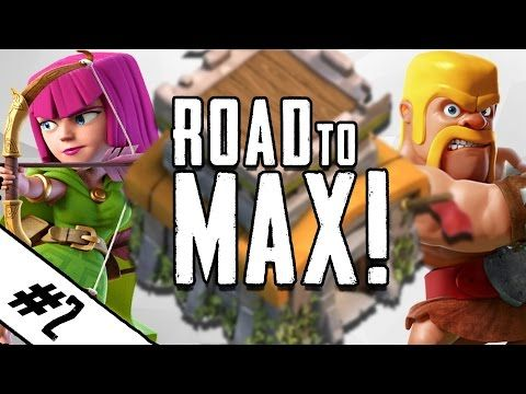 "awesome Clash Of Clans | ""ROAD TO MAX TH8 EP.2"" 