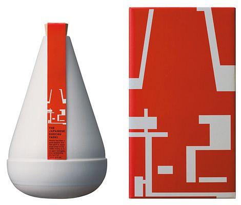 Sake bottle. #packaging #design #GR616-OB2-SP13 #GreatDesign