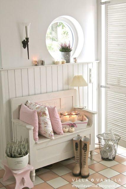 villa vanilla wohnzimmer:Pinterest Shabby Chic Hallway Decorating Ideas