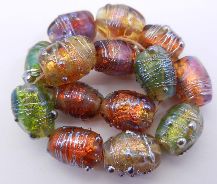 lampwork beads glass beads