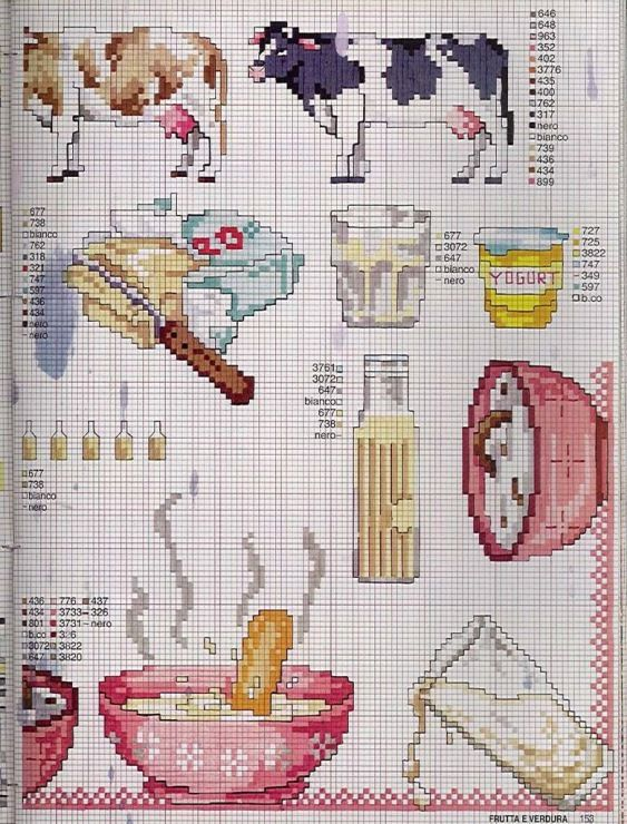 Gallery.ru / Фото #99 - EnciclopEdia Italiana Frutas e verduras - natalytretyak