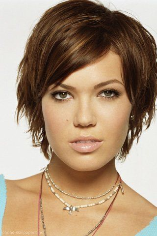 mandy moore hairstyles | Mandy Moore Short Hair Hairstyle - JoBSPapa.com