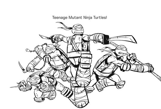 tmnt coloring pages ralph 2012 - photo#7