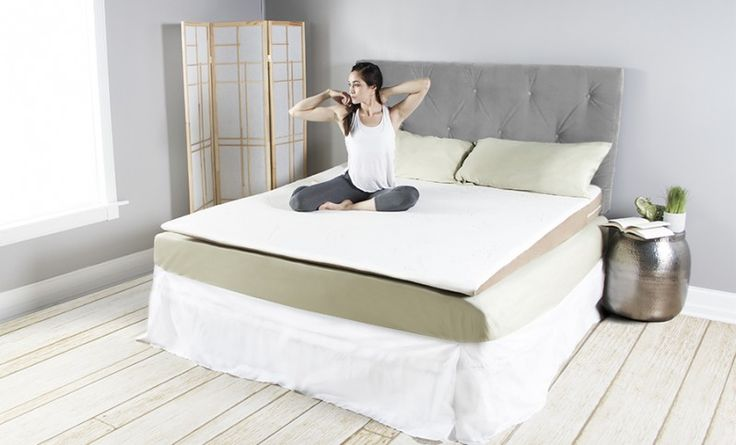 Slant Acid Reflux Mattress Topper -- The Slant Mattress Topper works much like a hospital bed, offering relief through elevation and gravity. Your whole torso is gently lifted by our soft foam, providing an ideal sleep surface. It is available in a variety of sizes to cover the full-width or half-width of your bed, the Slant slips easily under your sheets and personal pillow to fit your sleep style perfectly.