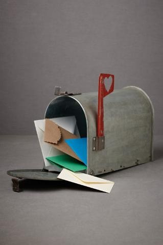 Love Letters Mailbox... pretty cute idea for a mommy/daddy to write their kids…