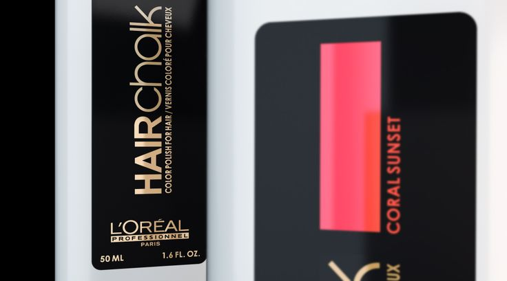 Création du 1er Make-up pour cheveux