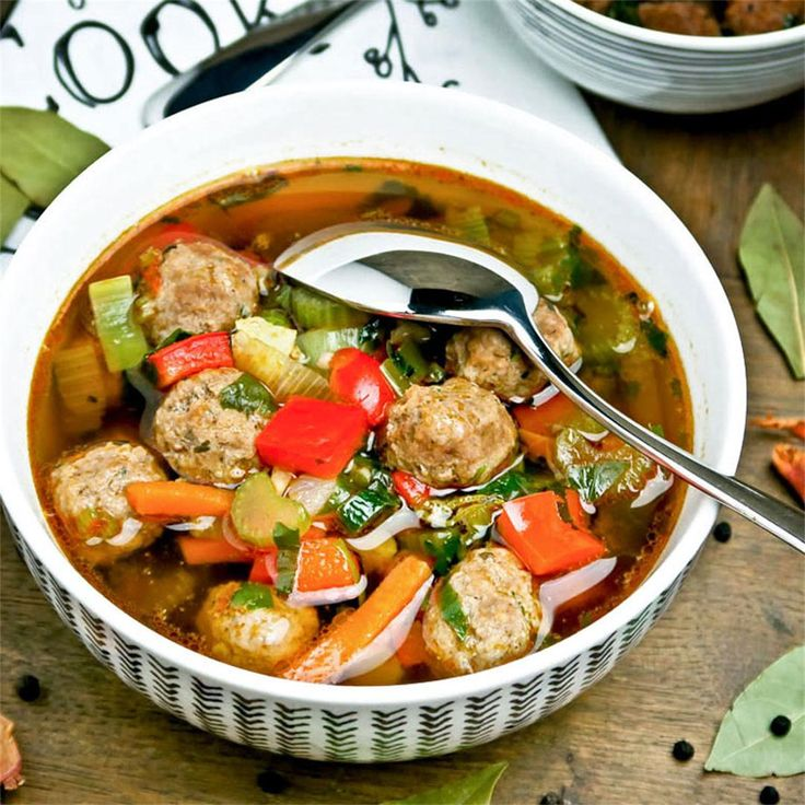 Hearty Dutch vegetable soup with tasty meatballs by culinairebagage - #KeepOnCooking #Entree #Entrée #Meat #Soup #Stew #Vegetable #Vegetables